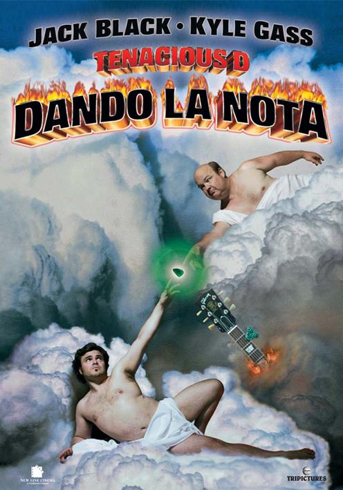 Tenacious D in the Pick of Destiny   Diario de una Cinéfila Tenacious D Pick Of Destiny Poster