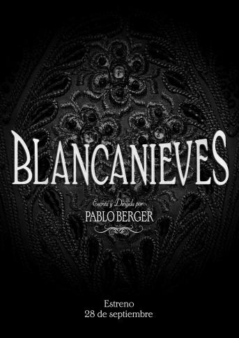 Poster de Blancanieves de Pablo Berger
