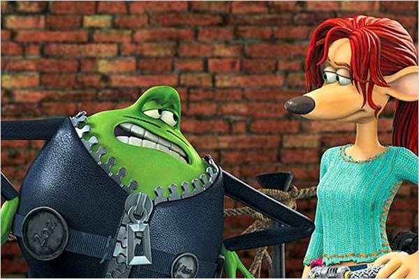 Le Frog y Rita en Ratónpolis