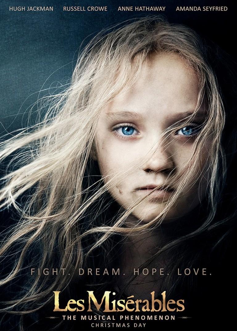 Poster de Los Miserables 2012