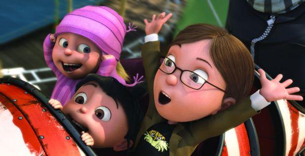 Edith, Agnes y Margo en Gru mi Villano Favorito