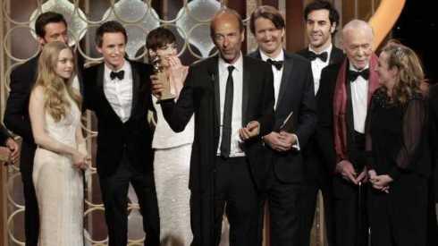 Los Miserables gana el Globo de Oro 2013