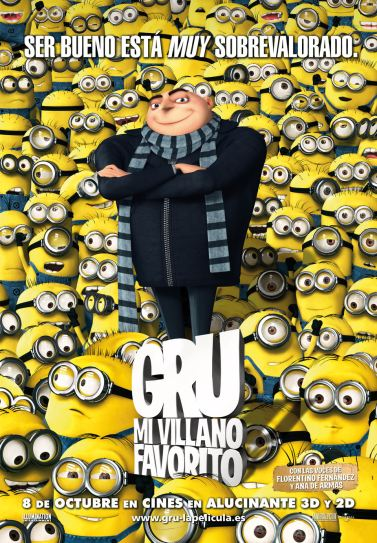 Poster de Gru, Mi Villano Favorito