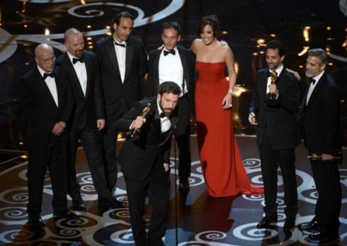 Ben Affleck y su Oscar por Argo