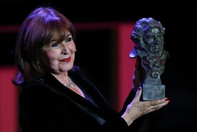 Concha Velasco y su Goya de Honor 2013