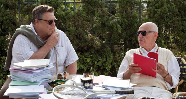 John Goodman y Alan Arkin en Argo