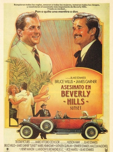 Poster de Asesinato en Beverly Hills
