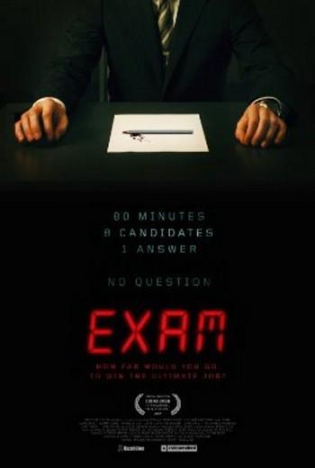 Poster de Exam