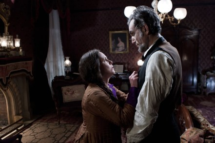 Sally Field y Daniel Day-Lewis en Lincoln