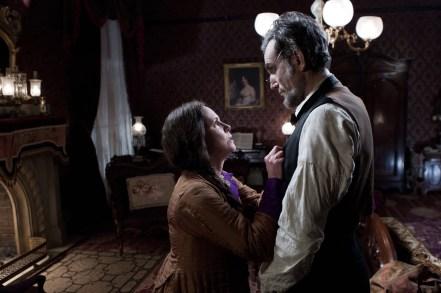 Sally Field y Daniel Day-Lewis en Lincoln