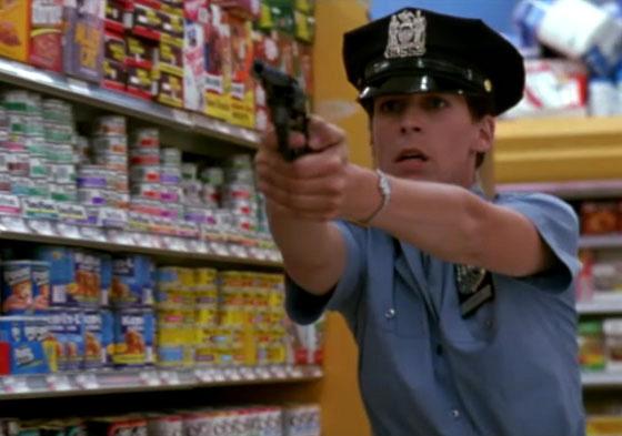 Jamie Lee Curtis en Acero Azul