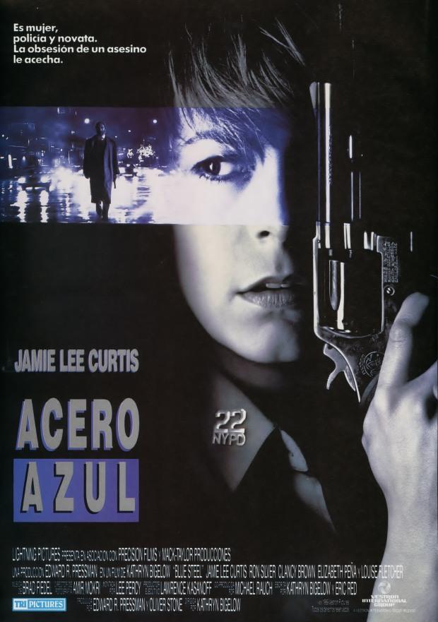Poster de Acero Azul