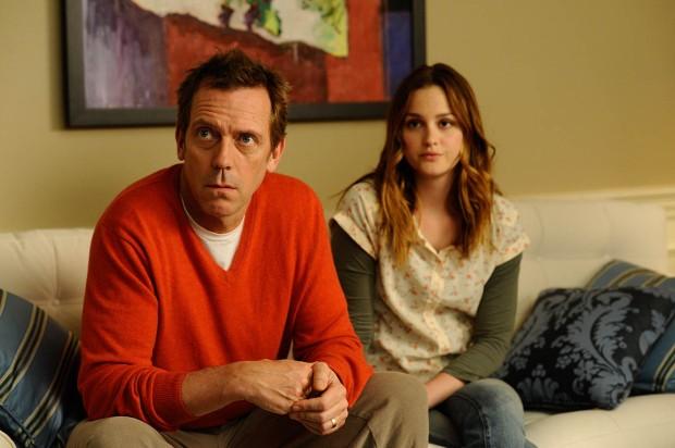 Hugh Laurie y Leighton Meester en La Hija de mi Mejor Amigo