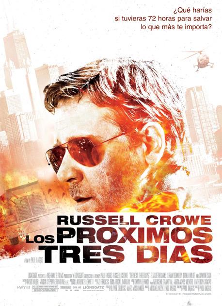 Poster de Los Próximos Tres Días