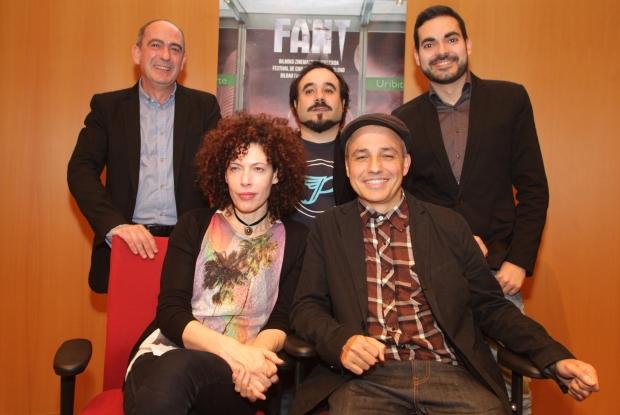 El jurado del Festival de Cine Fantástico de Bilbao, FANT, 2013 con el director Pablo Berger