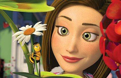 Barry y Vanessa en Bee Movie