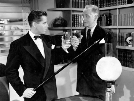 Glenn Ford y George Macready en Gilda