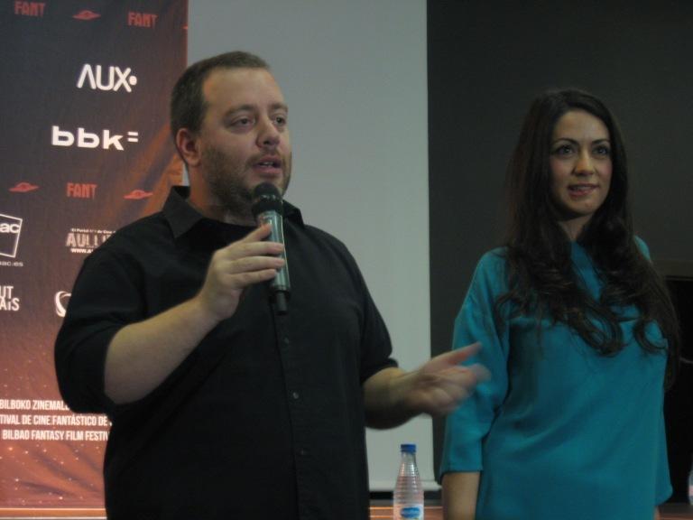 """Jorge Arenillas y Verónica Perona, director y actriz de """"Otro Verano"""""""