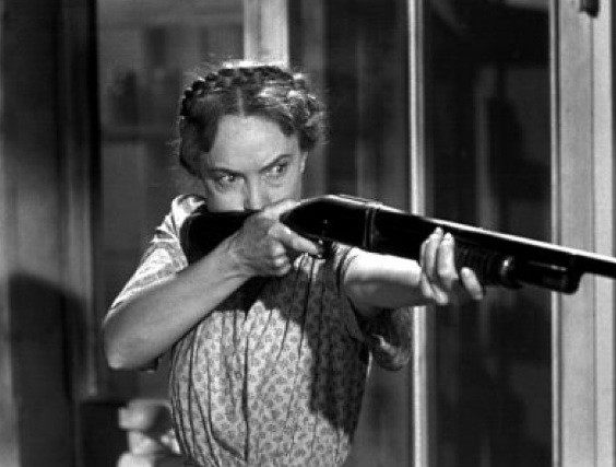 Lillian Gish en La Noche del Cazador