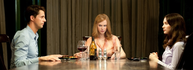 Matthew Goode, Nicole Kidman y Mia Wasikowska en Stoker
