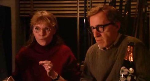 Mia Farrow y Woody Allen en Delitos y Faltas