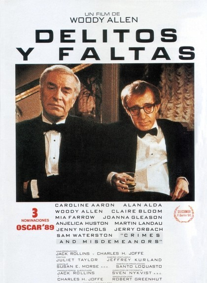 Poster de Delitos y Faltas