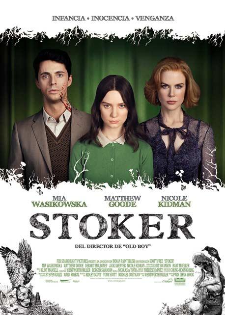 Poster de Stoker