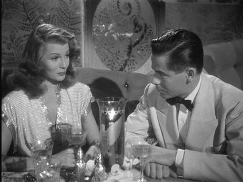 Rita Hayworth y Glenn Ford en Gilda