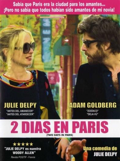 Poster de 2 Días en París