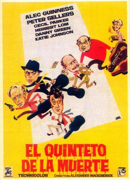 Poster de El Quinteto de la Muerte