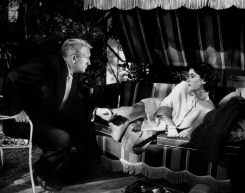 Spencer Tracy y Elizabeth taylor en El Padre es Abuelo