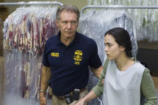 Harison Ford y Alice Braga en Territorio Prohibido