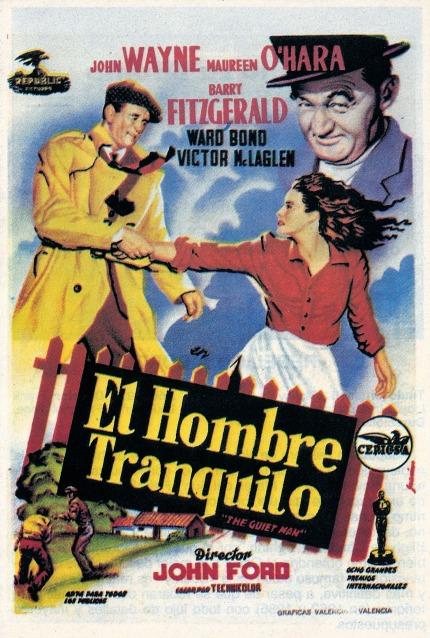 Poster de El Hombre Tranquilo