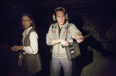 Vera Farmiga y Patrick Wilson en Expediente Warren