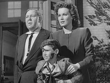 Charles Laughton y Maureen O'Hara en Esta Tierra es Mía