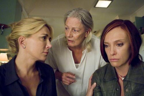 Natasha Richardson, Vanessa Redgrave y Toni Collete en El Amanecer