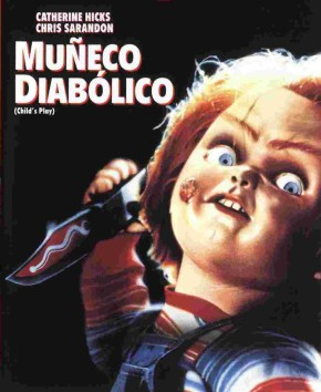 Poster de El Muñeco Diabólico