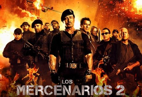 Poster de Los Mercenarios 2