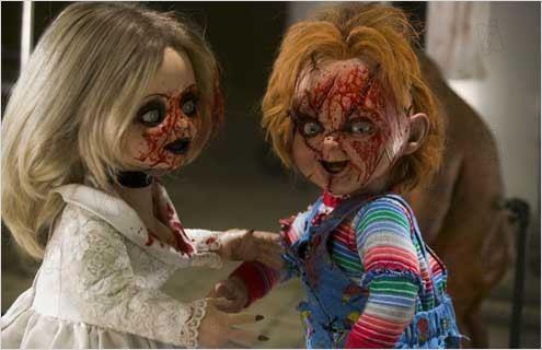 Tiffany y Chucky en La Semilla de Chucky