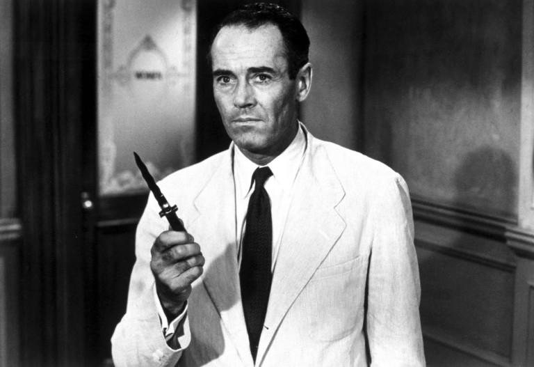 Henry Fonda en Doce Hombres Sin Piedad