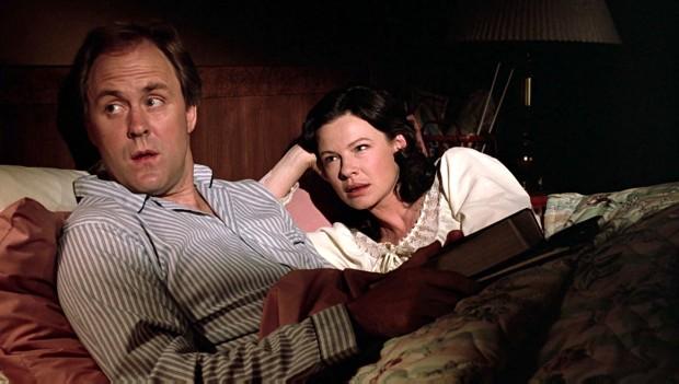 John Lithgow y Dianne Wiest en Footloose