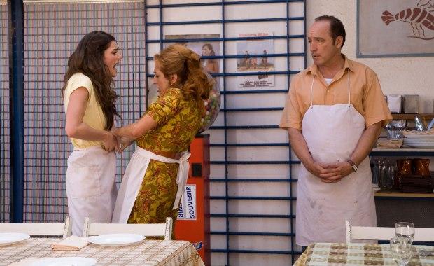 Olivia Molina, Carmen Balagué y Roberto Álvarez en Dieta Mediterránea
