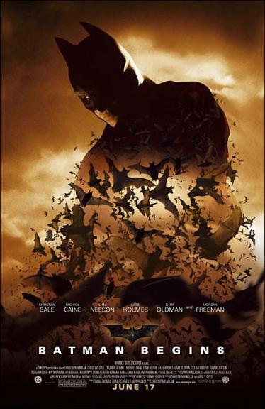 Poster de Batman Begins