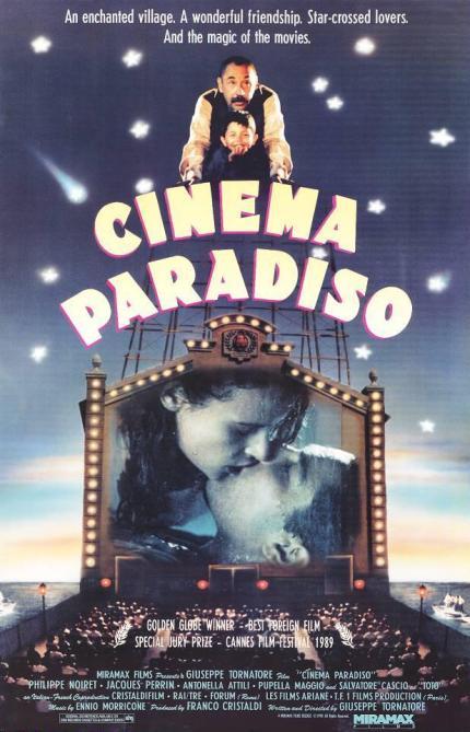 Poster de Cinema Paradiso