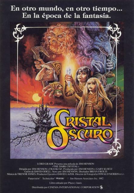 Poster de Cristal Oscuro
