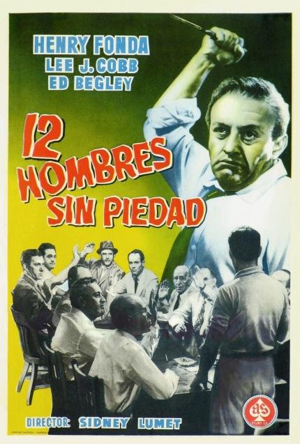 Poster de Doce Hombres sin Piedad