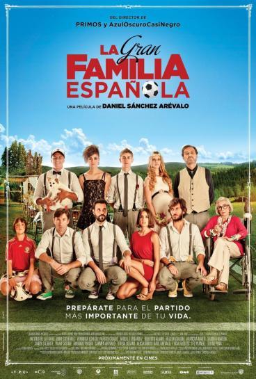 Poster de La Gran Familia Española