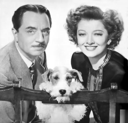 William Powell, Asta y Myrna Loy