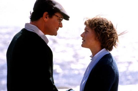 Hugh Bonneville y Kate Winslet en Iris