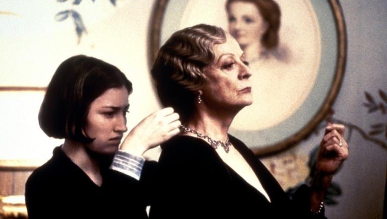 Kelly Macdonald y Maggie Smith en Gosford Park